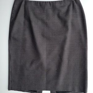 Linda Allard Ellen Tracy Polka Dot Pencil Skirt